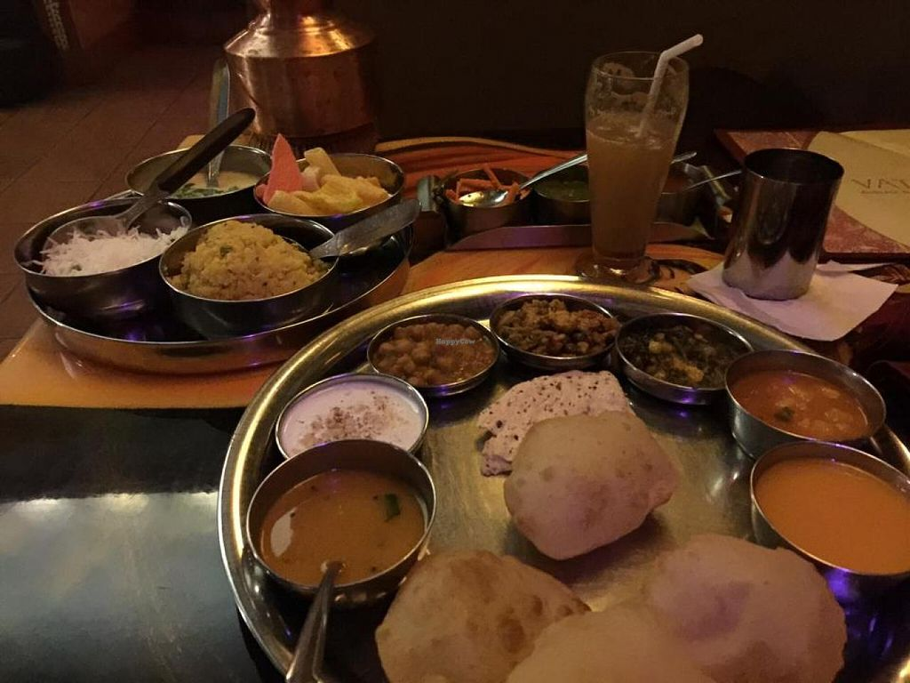 """Photo of Vatan  by <a href=""""/members/profile/hrefna"""">hrefna</a> <br/>main course thali with masala lime soda <br/> November 16, 2014  - <a href='/contact/abuse/image/2290/85890'>Report</a>"""