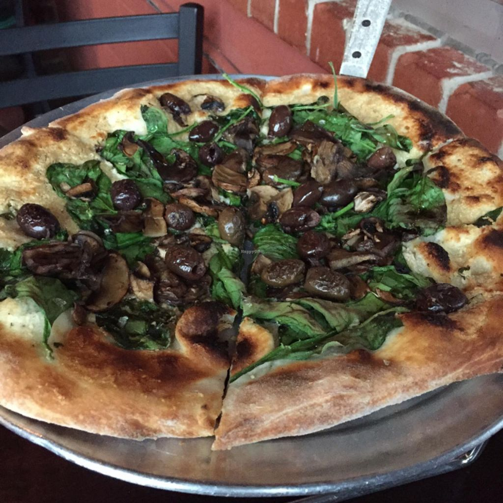 "Photo of The Wedge Pizzeria  by <a href=""/members/profile/Mrs_Rowe"">Mrs_Rowe</a> <br/>Truffle Shuffle vegan pizza <br/> March 9, 2015  - <a href='/contact/abuse/image/22912/95315'>Report</a>"