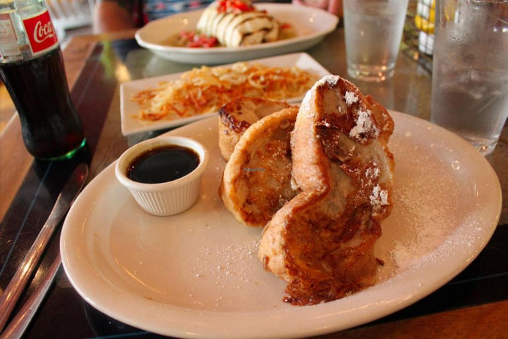 """Photo of Golden West Cafe  by <a href=""""/members/profile/Raesock"""">Raesock</a> <br/>Vegan french toast.  <br/> November 7, 2014  - <a href='/contact/abuse/image/22931/84912'>Report</a>"""