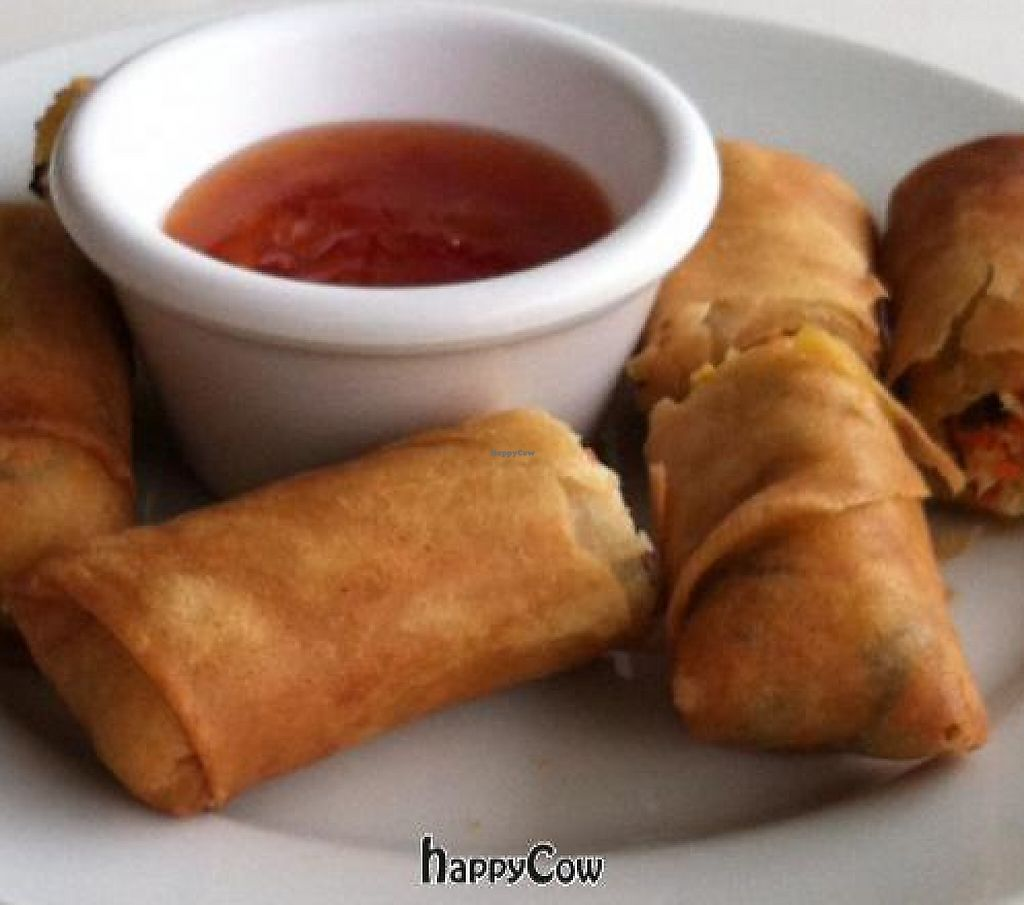"""Photo of Loving Hut - Honolulu South King St  by <a href=""""/members/profile/nardanddee"""">nardanddee</a> <br/>spring rolls <br/> November 22, 2012  - <a href='/contact/abuse/image/22933/199276'>Report</a>"""