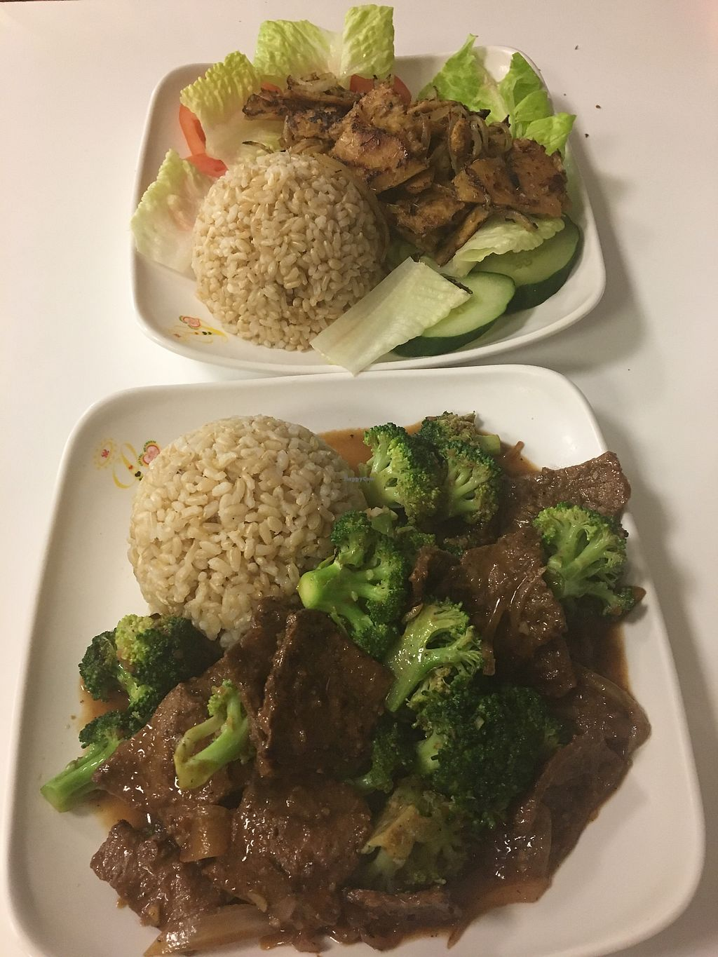 """Photo of Loving Hut - Honolulu South King St  by <a href=""""/members/profile/Amw722"""">Amw722</a> <br/>Lemongrass tofu and Brocco pua. Out of this world!  <br/> September 19, 2017  - <a href='/contact/abuse/image/22933/305930'>Report</a>"""