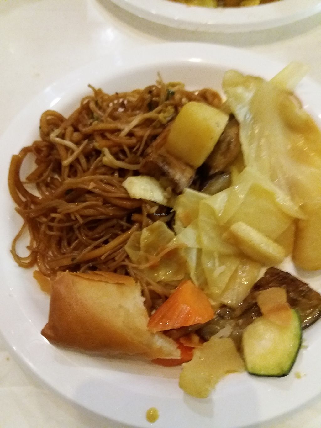 "Photo of Divine Realm Vegie Delight  by <a href=""/members/profile/veganvirtues"">veganvirtues</a> <br/>Noodles and curried veggie <br/> October 13, 2017  - <a href='/contact/abuse/image/22948/314681'>Report</a>"