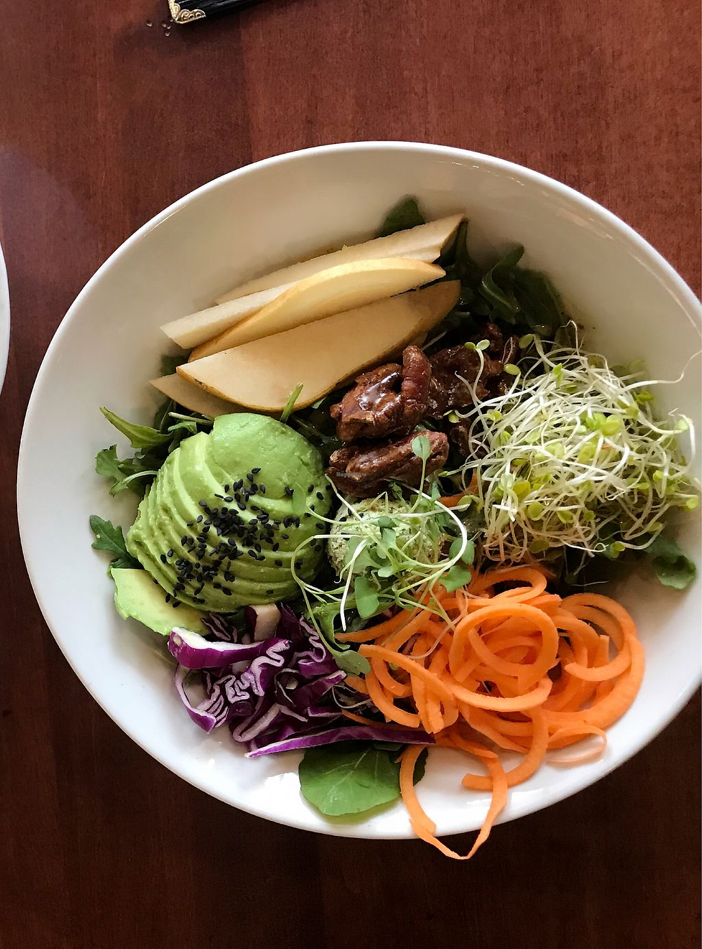 """Photo of Living Kitchen - South End  by <a href=""""/members/profile/Dimanta"""">Dimanta</a> <br/>Harvest Salad <br/> March 5, 2018  - <a href='/contact/abuse/image/22984/366944'>Report</a>"""