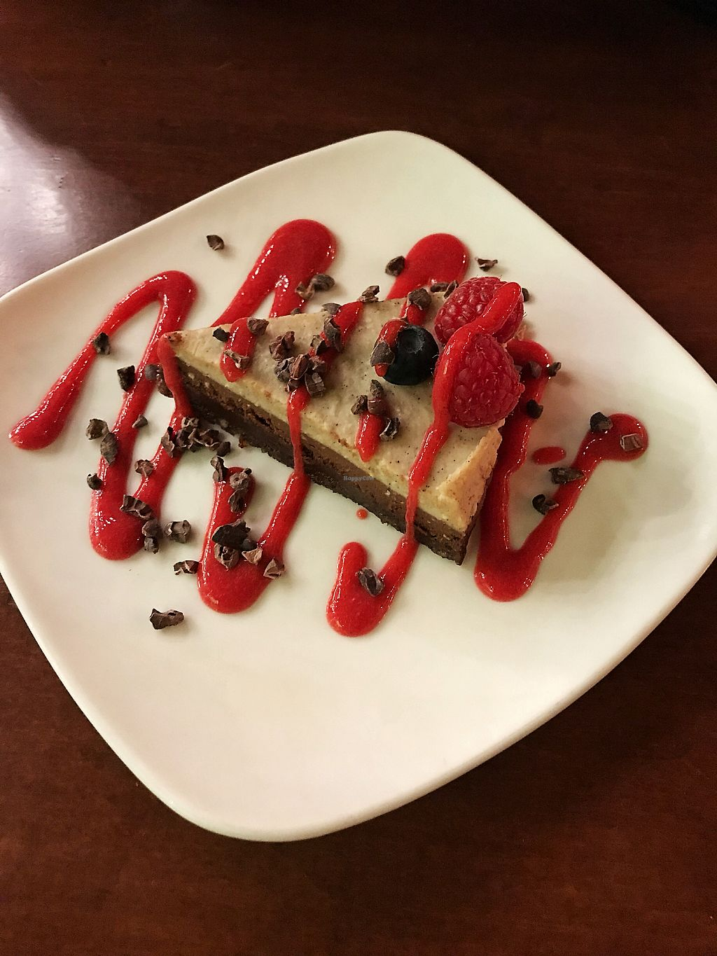 """Photo of Living Kitchen - South End  by <a href=""""/members/profile/Dimanta"""">Dimanta</a> <br/>Dolce cake was so so <br/> March 5, 2018  - <a href='/contact/abuse/image/22984/366951'>Report</a>"""