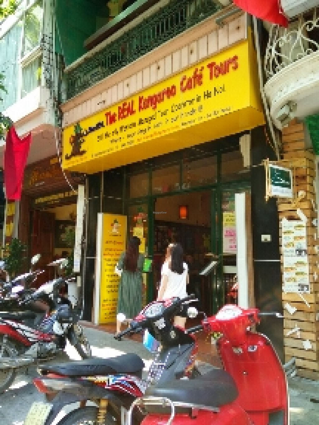 """Photo of Kangaroo Cafe  by <a href=""""/members/profile/longmaowei"""">longmaowei</a> <br/>front of the restaurant <br/> October 16, 2015  - <a href='/contact/abuse/image/22991/121438'>Report</a>"""