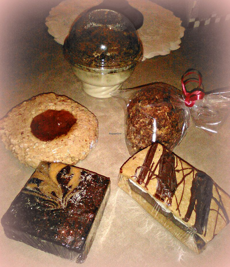 "Photo of Good Karma Cafe  by <a href=""/members/profile/V%CE%B5G%CE%9B%E2%98%A5G%CE%9BL"">VεGΛ☥GΛL</a> <br/>dessert galore <br/> February 20, 2018  - <a href='/contact/abuse/image/22992/361503'>Report</a>"