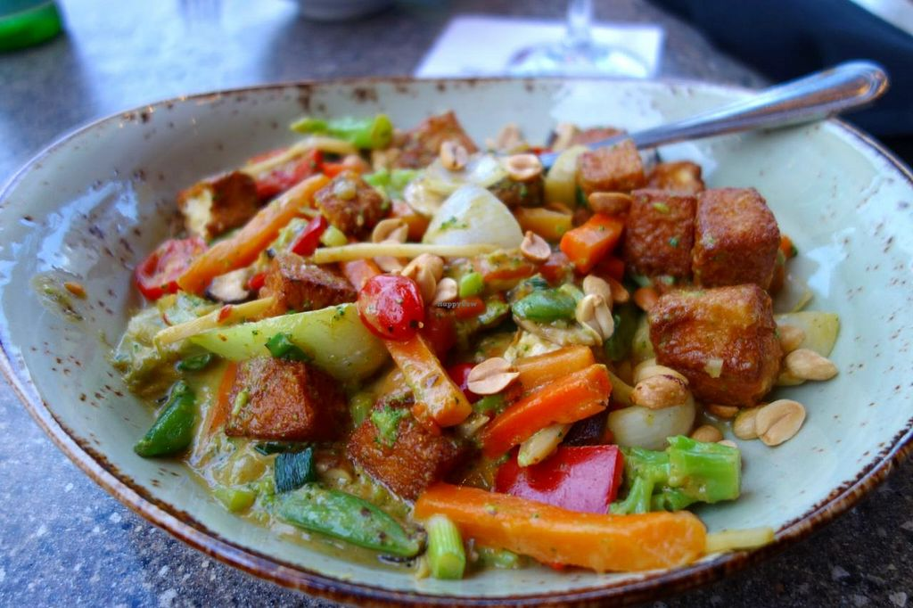 """Photo of P.F. Chang's  by <a href=""""/members/profile/Gudrun"""">Gudrun</a> <br/>Coconut Curry Vegetables <br/> April 13, 2015  - <a href='/contact/abuse/image/23002/98829'>Report</a>"""