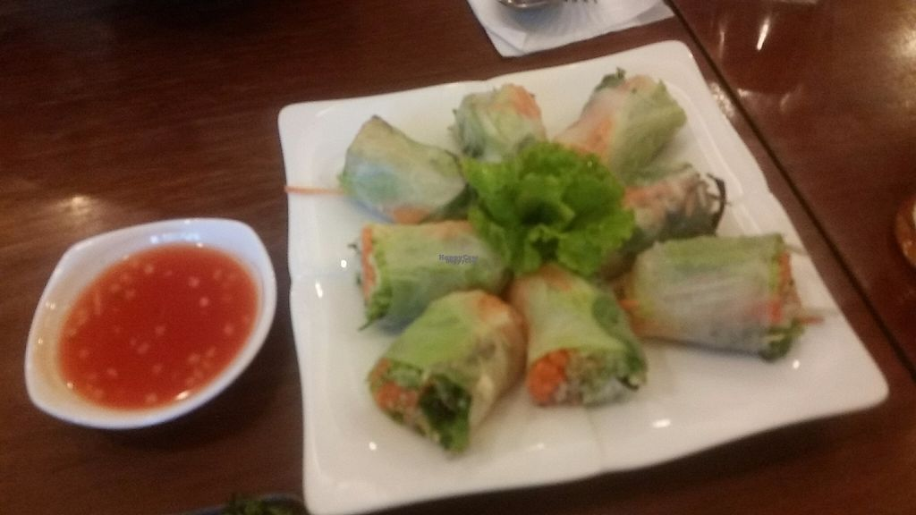 "Photo of The Vegetarian  by <a href=""/members/profile/Without_Cruelty_Blog"">Without_Cruelty_Blog</a> <br/>Fresh spring rolls  <br/> November 13, 2016  - <a href='/contact/abuse/image/23003/189616'>Report</a>"