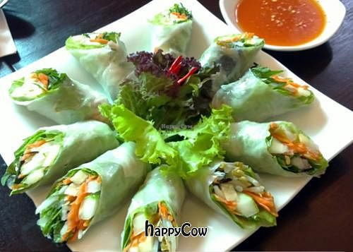 "Photo of The Vegetarian  by <a href=""/members/profile/Kiko"">Kiko</a> <br/>Fresh spring roll <br/> August 12, 2012  - <a href='/contact/abuse/image/23003/35965'>Report</a>"