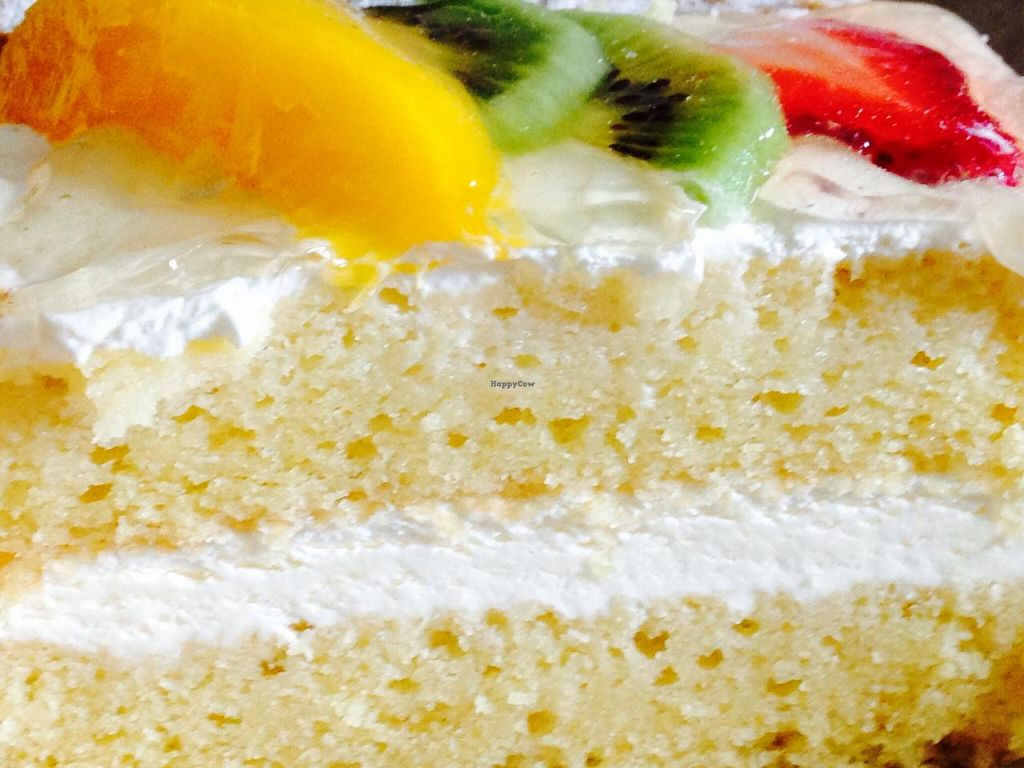 """Photo of Dama Pastry and Restaurant  by <a href=""""/members/profile/cookiem"""">cookiem</a> <br/>Vegan fruit cake <br/> February 14, 2015  - <a href='/contact/abuse/image/23008/93009'>Report</a>"""