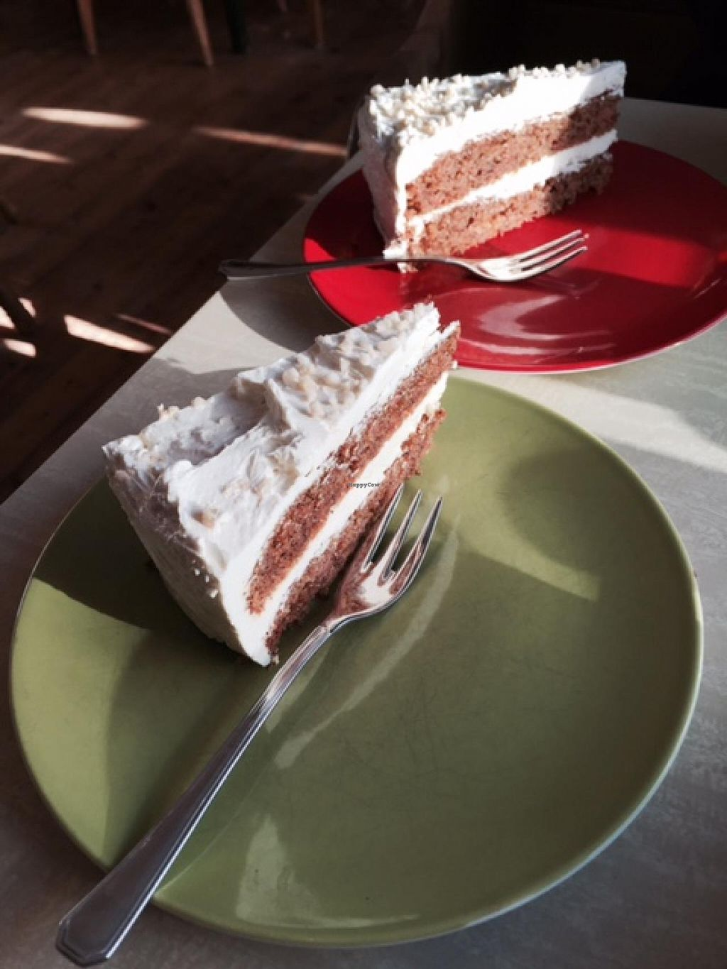 """Photo of Cafe Babalu  by <a href=""""/members/profile/Shel%20Graves"""">Shel Graves</a> <br/>Vegan carrot cake <br/> March 30, 2015  - <a href='/contact/abuse/image/23014/97386'>Report</a>"""