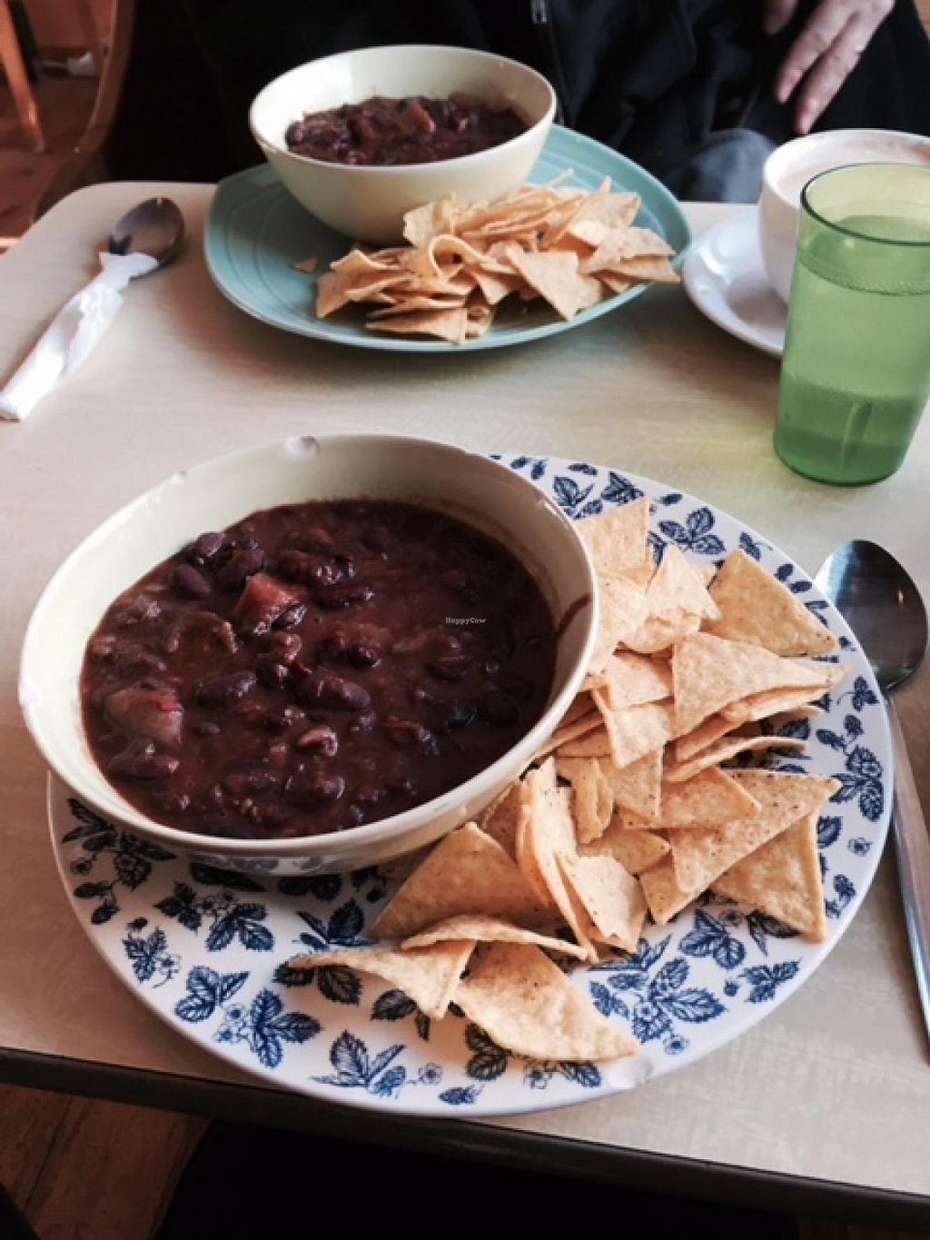 """Photo of Cafe Babalu  by <a href=""""/members/profile/Shel%20Graves"""">Shel Graves</a> <br/>Veggie chili <br/> March 30, 2015  - <a href='/contact/abuse/image/23014/97387'>Report</a>"""