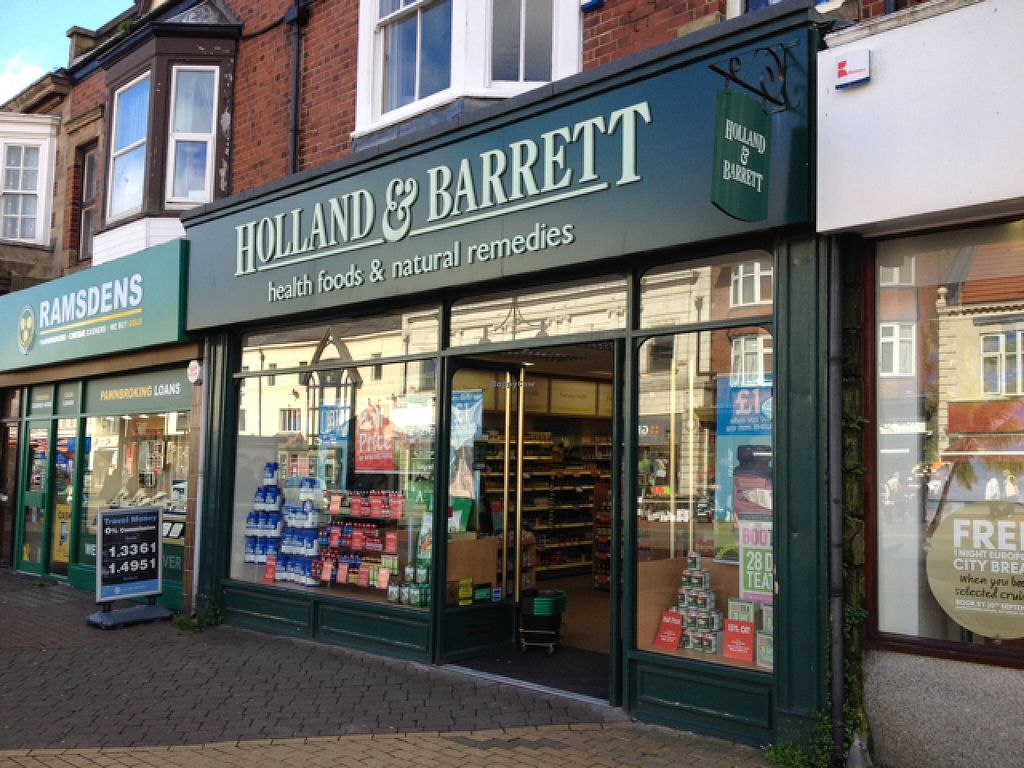 "Photo of Holland and Barrett  by <a href=""/members/profile/hack_man"">hack_man</a> <br/>outside  <br/> September 25, 2015  - <a href='/contact/abuse/image/23022/118996'>Report</a>"