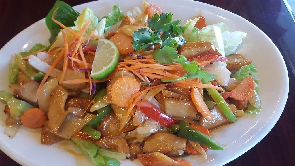 "Photo of Thai Vegan  by <a href=""/members/profile/ajkaili"">ajkaili</a> <br/>Creamy Chicken (Spicy) <br/> March 12, 2017  - <a href='/contact/abuse/image/23089/235316'>Report</a>"
