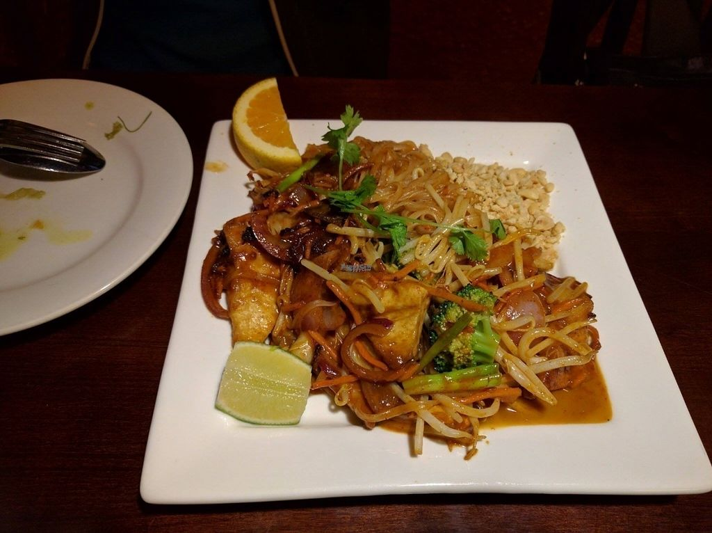 """Photo of Thai Sapa  by <a href=""""/members/profile/SaraMarkic"""">SaraMarkic</a> <br/>vegan pad thai with tofu, veeery tasty!! <br/> October 19, 2016  - <a href='/contact/abuse/image/23124/183041'>Report</a>"""