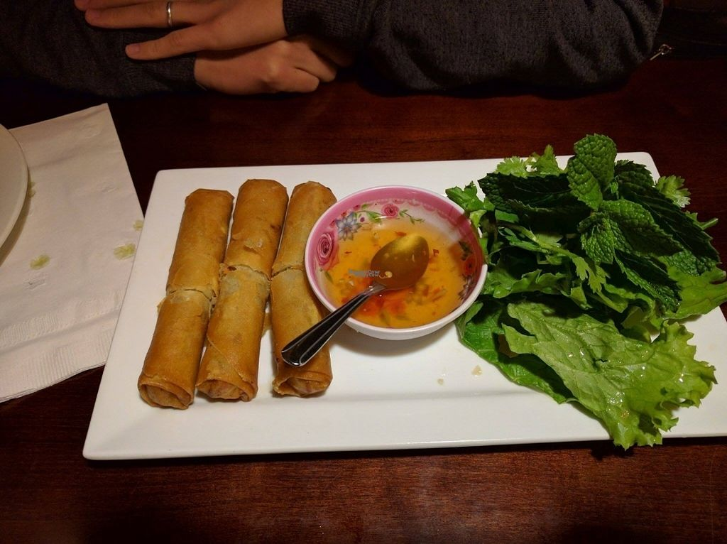 """Photo of Thai Sapa  by <a href=""""/members/profile/SaraMarkic"""">SaraMarkic</a> <br/>spring rolls <br/> October 19, 2016  - <a href='/contact/abuse/image/23124/183043'>Report</a>"""