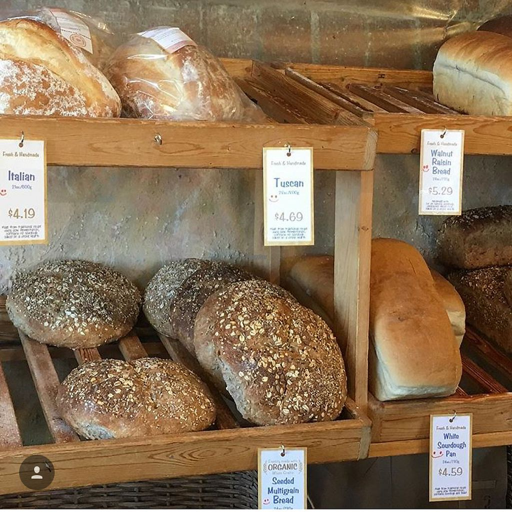 """Photo of Silke's Old World Breads  by <a href=""""/members/profile/happycowgirl"""">happycowgirl</a> <br/>fresh bakery breads <br/> February 8, 2017  - <a href='/contact/abuse/image/23158/224413'>Report</a>"""