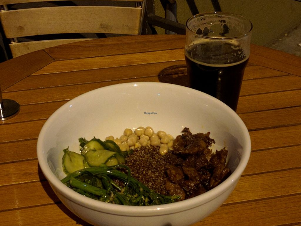 """Photo of Tony's Darts Away  by <a href=""""/members/profile/Sonja%20and%20Dirk"""">Sonja and Dirk</a> <br/>quinoa bowl special <br/> March 14, 2016  - <a href='/contact/abuse/image/23159/140007'>Report</a>"""