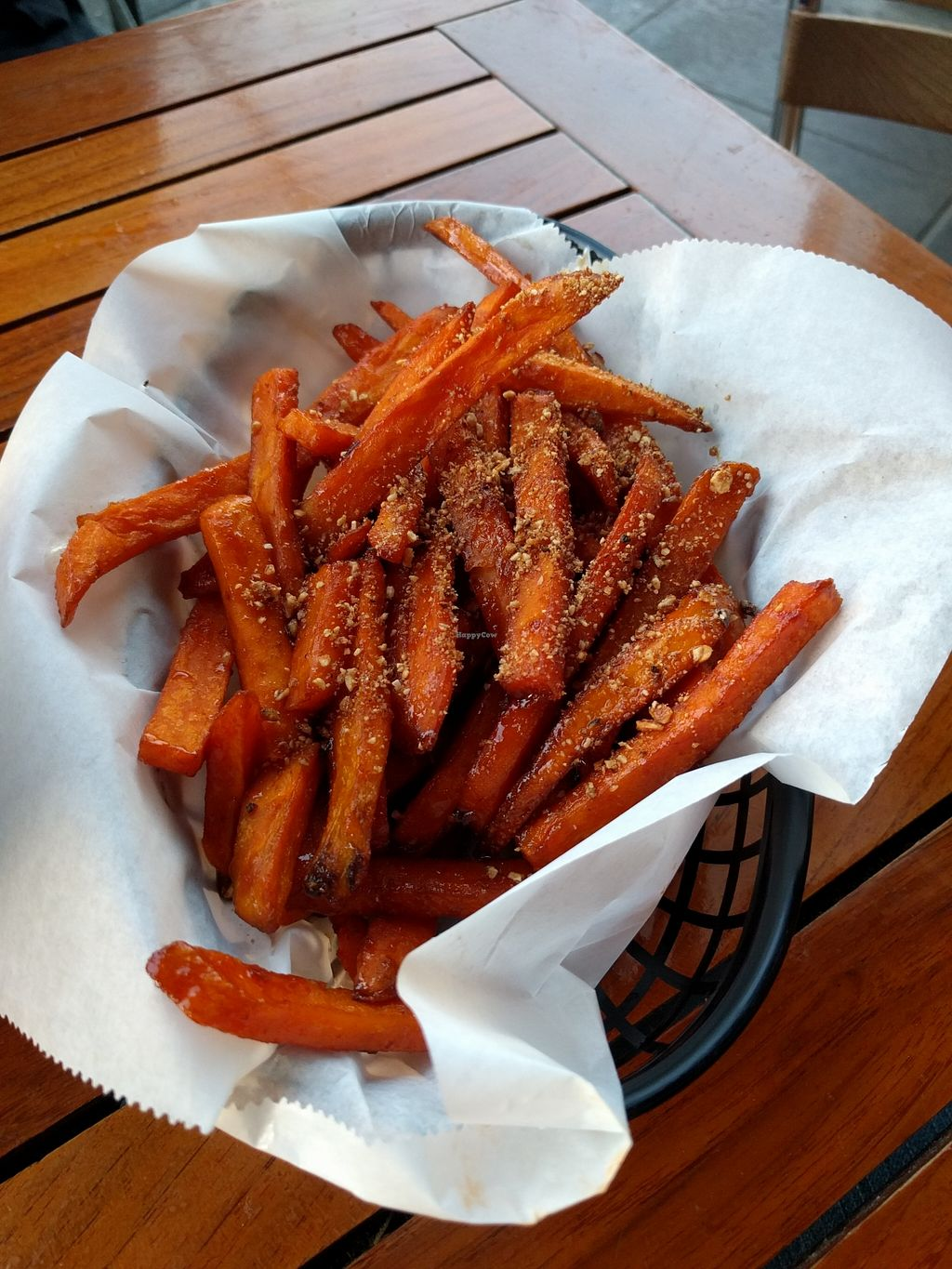 """Photo of Tony's Darts Away  by <a href=""""/members/profile/Sonja%20and%20Dirk"""">Sonja and Dirk</a> <br/>sweet and spicy campote fries <br/> March 19, 2016  - <a href='/contact/abuse/image/23159/140609'>Report</a>"""