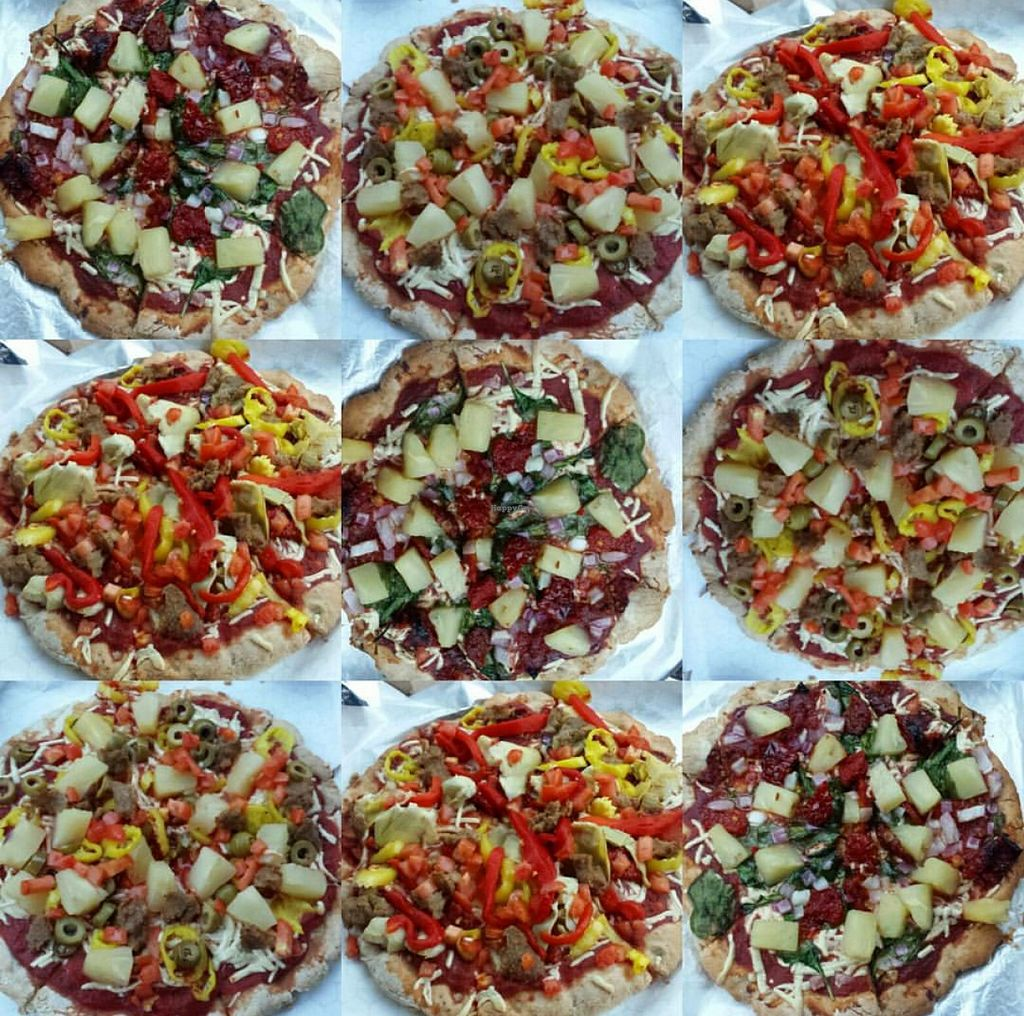 """Photo of Hippies Pizza  by <a href=""""/members/profile/Vegan%20BB"""">Vegan BB</a> <br/>THE BEST! <br/> February 20, 2016  - <a href='/contact/abuse/image/23170/136928'>Report</a>"""