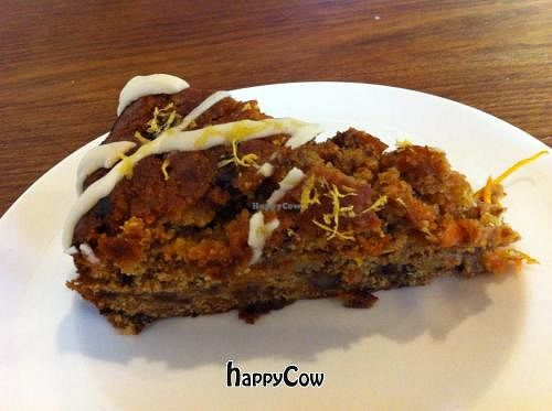 """Photo of The Beech Cafe  by <a href=""""/members/profile/ELyzab"""">ELyzab</a> <br/>Vegan carrot cake <br/> March 2, 2013  - <a href='/contact/abuse/image/23171/44935'>Report</a>"""