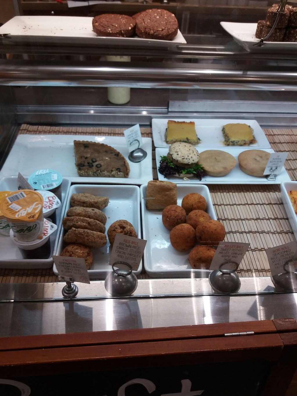 """Photo of Iku Wholefood Kitchen - Greenwood Plaza  by <a href=""""/members/profile/veganvirtues"""">veganvirtues</a> <br/>Some Iku dishes <br/> September 19, 2017  - <a href='/contact/abuse/image/23181/305958'>Report</a>"""