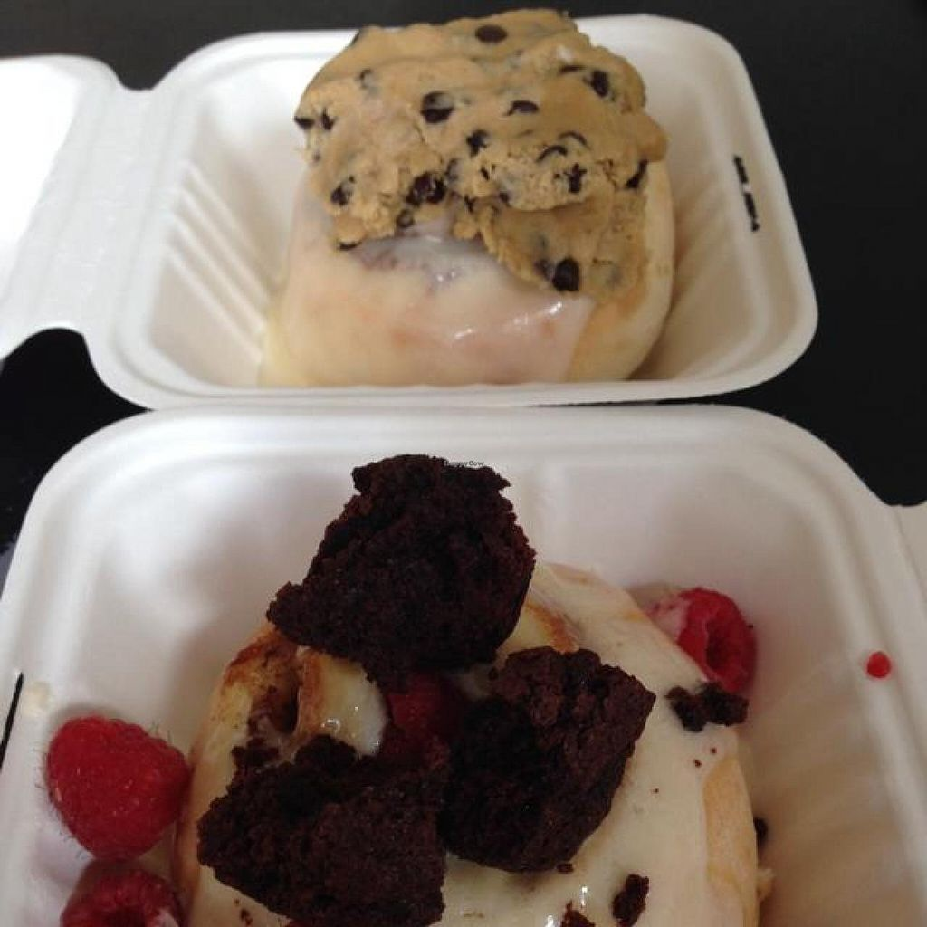 "Photo of Cinnaholic  by <a href=""/members/profile/AshleyLorden"">AshleyLorden</a> <br/>choose your own toppings -- cookie dough, raspberries, brownie pieces <br/> April 19, 2014  - <a href='/contact/abuse/image/23203/67983'>Report</a>"