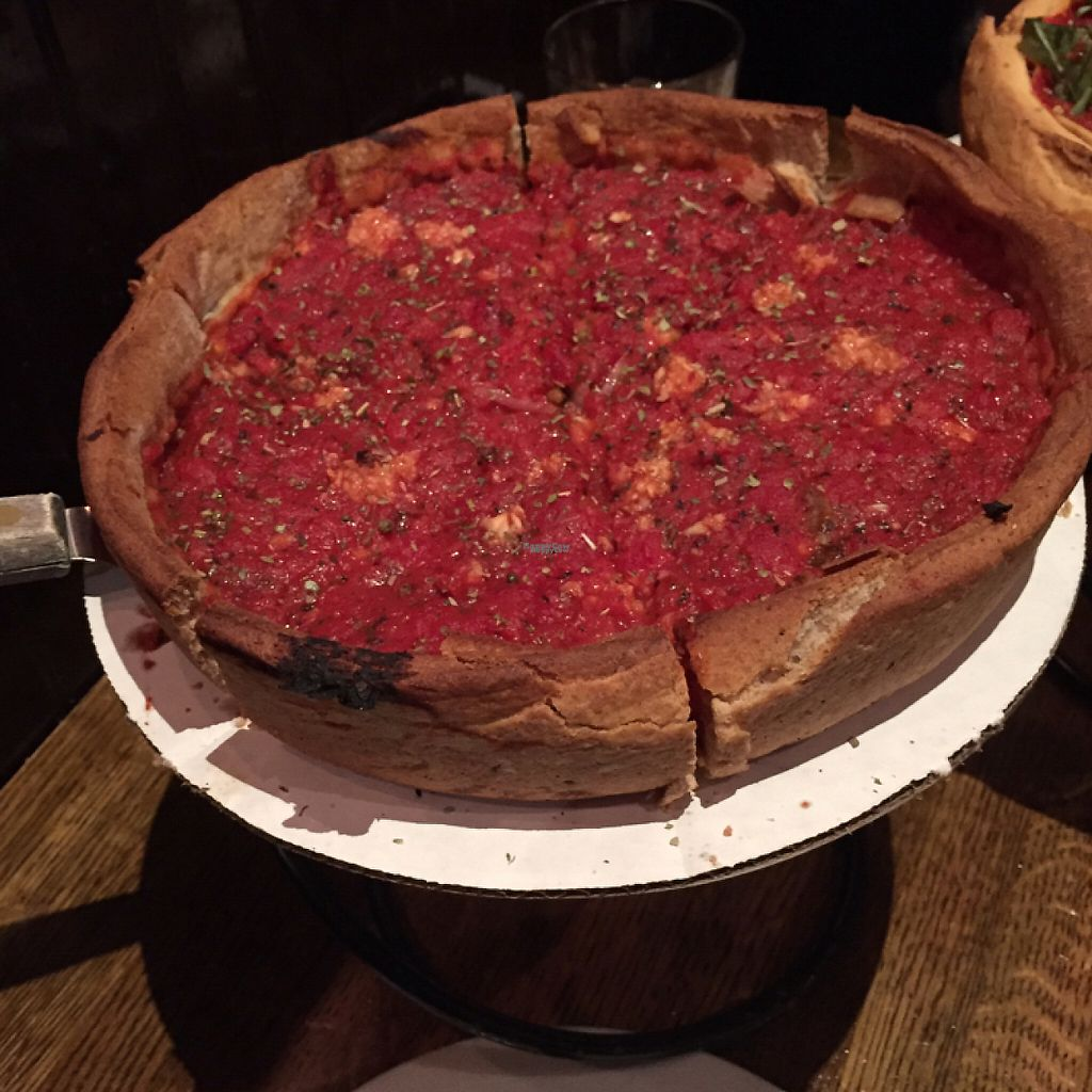 "Photo of Patxi's Pizza - Hayes Valley  by <a href=""/members/profile/matterandrew"">matterandrew</a> <br/>Deep dish vegan pizza <br/> March 20, 2017  - <a href='/contact/abuse/image/23207/238932'>Report</a>"