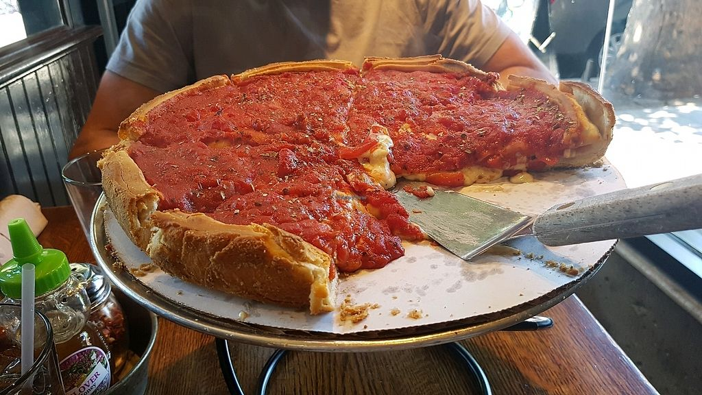 "Photo of Patxi's Pizza - Hayes Valley  by <a href=""/members/profile/hungryagnes"">hungryagnes</a> <br/>amazing deep dish <br/> October 29, 2017  - <a href='/contact/abuse/image/23207/319790'>Report</a>"