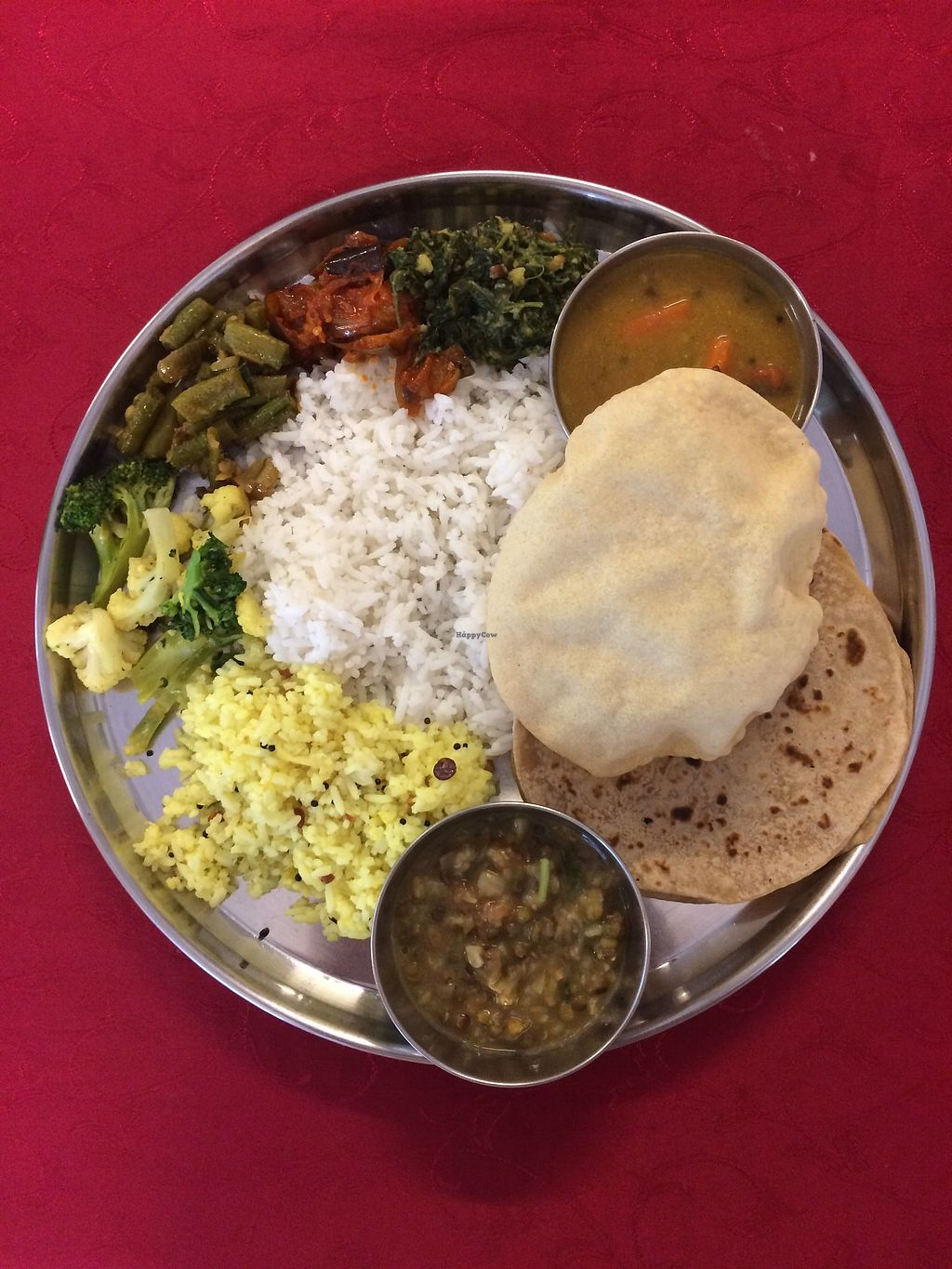 """Photo of Annalakshmi Restaurant  by <a href=""""/members/profile/LaurenceMontreuil"""">LaurenceMontreuil</a> <br/>typical plate <br/> March 13, 2018  - <a href='/contact/abuse/image/23250/370114'>Report</a>"""