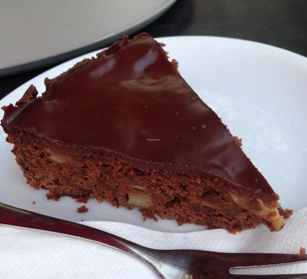 "Photo of Red  by <a href=""/members/profile/Brok%20O.%20Lee"">Brok O. Lee</a> <br/>Vegan chocolate-pear cake <br/> July 23, 2014  - <a href='/contact/abuse/image/23323/193101'>Report</a>"