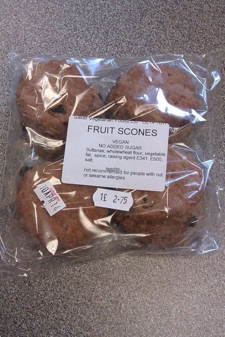 """Photo of Olive Branch  by <a href=""""/members/profile/Meaks"""">Meaks</a> <br/>Vegan, organic fruit scones <br/> September 3, 2016  - <a href='/contact/abuse/image/23365/173333'>Report</a>"""