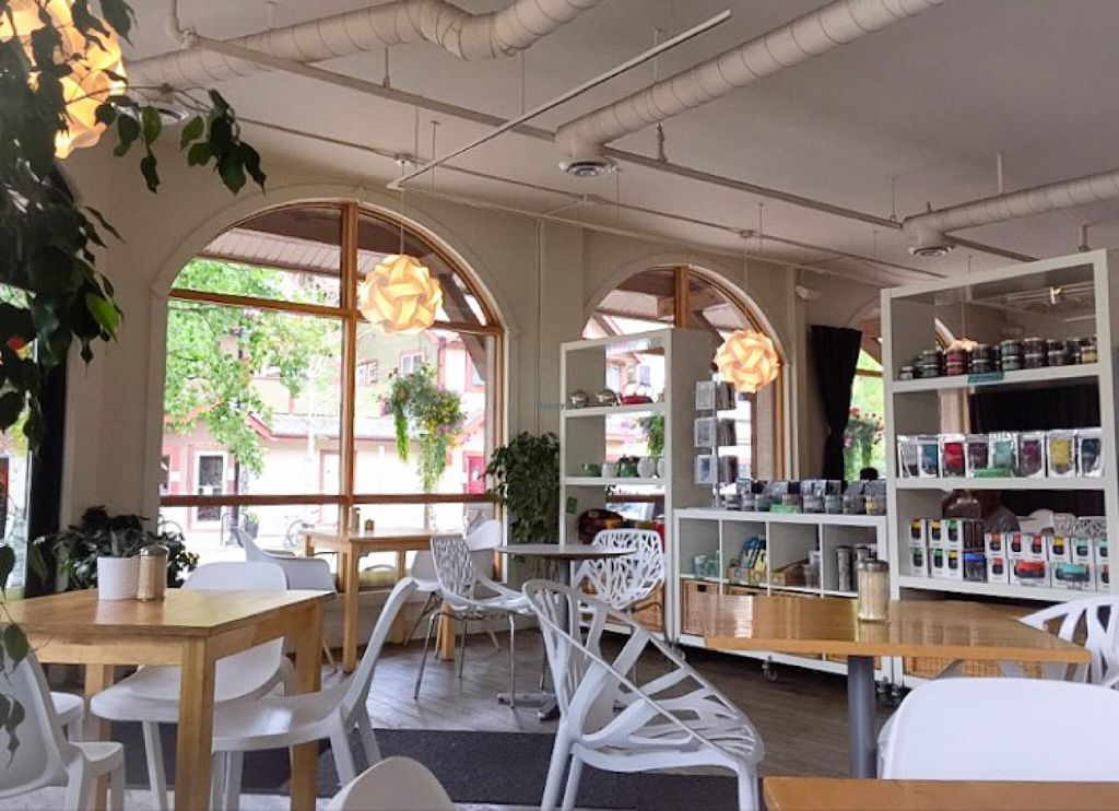 "Photo of Communitea Cafe  by <a href=""/members/profile/leont"">leont</a> <br/>Hip interior <br/> July 6, 2016  - <a href='/contact/abuse/image/23370/158179'>Report</a>"