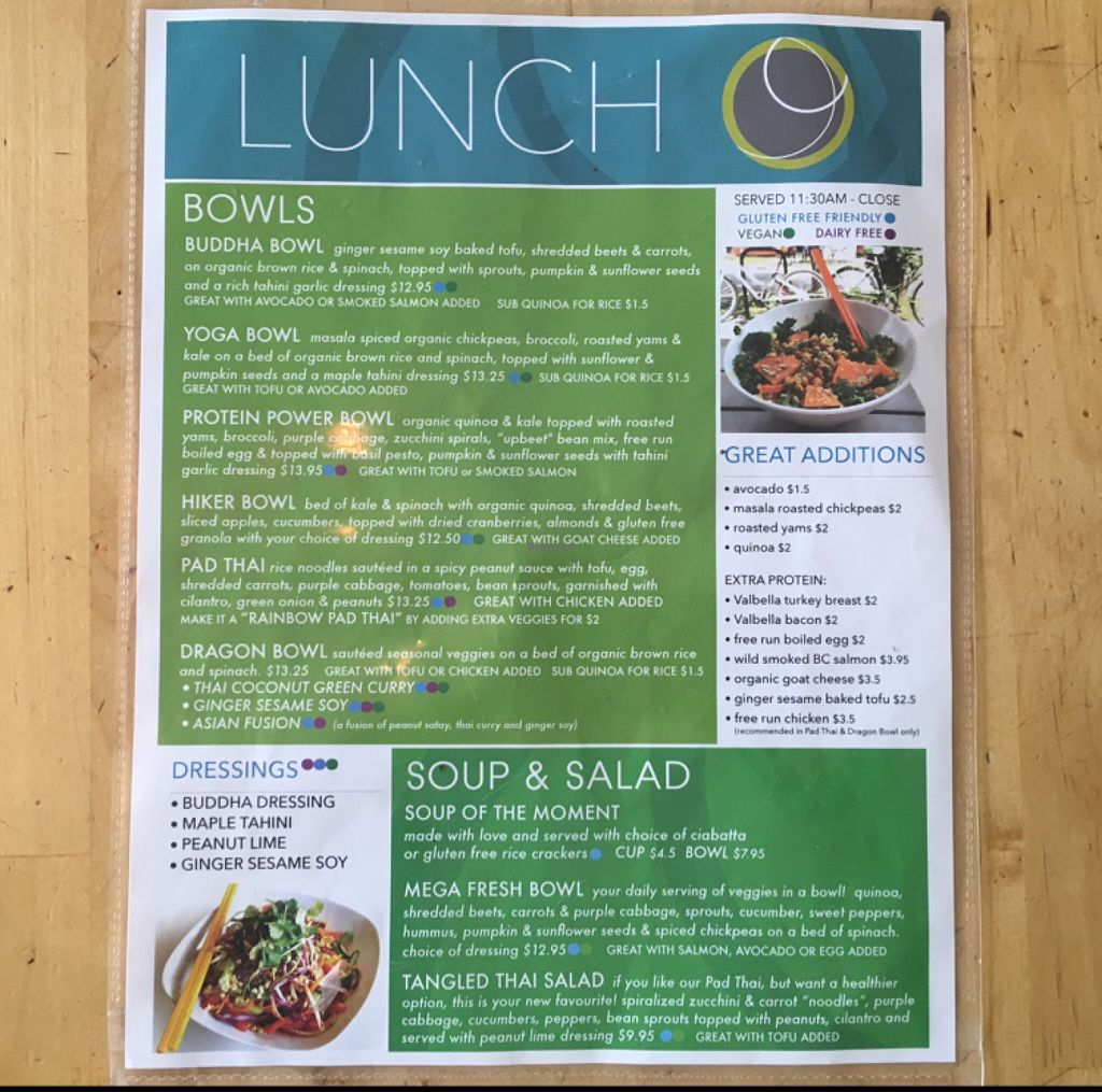 "Photo of Communitea Cafe  by <a href=""/members/profile/leont"">leont</a> <br/>Lunch menu 1/2 <br/> July 6, 2016  - <a href='/contact/abuse/image/23370/158182'>Report</a>"