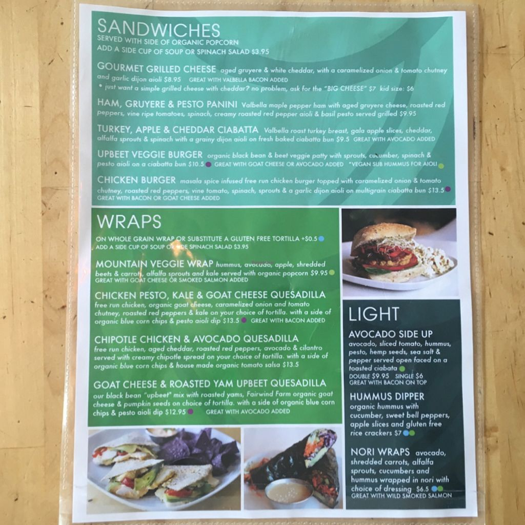 "Photo of Communitea Cafe  by <a href=""/members/profile/leont"">leont</a> <br/>Lunch menu 2/2 <br/> July 6, 2016  - <a href='/contact/abuse/image/23370/158183'>Report</a>"