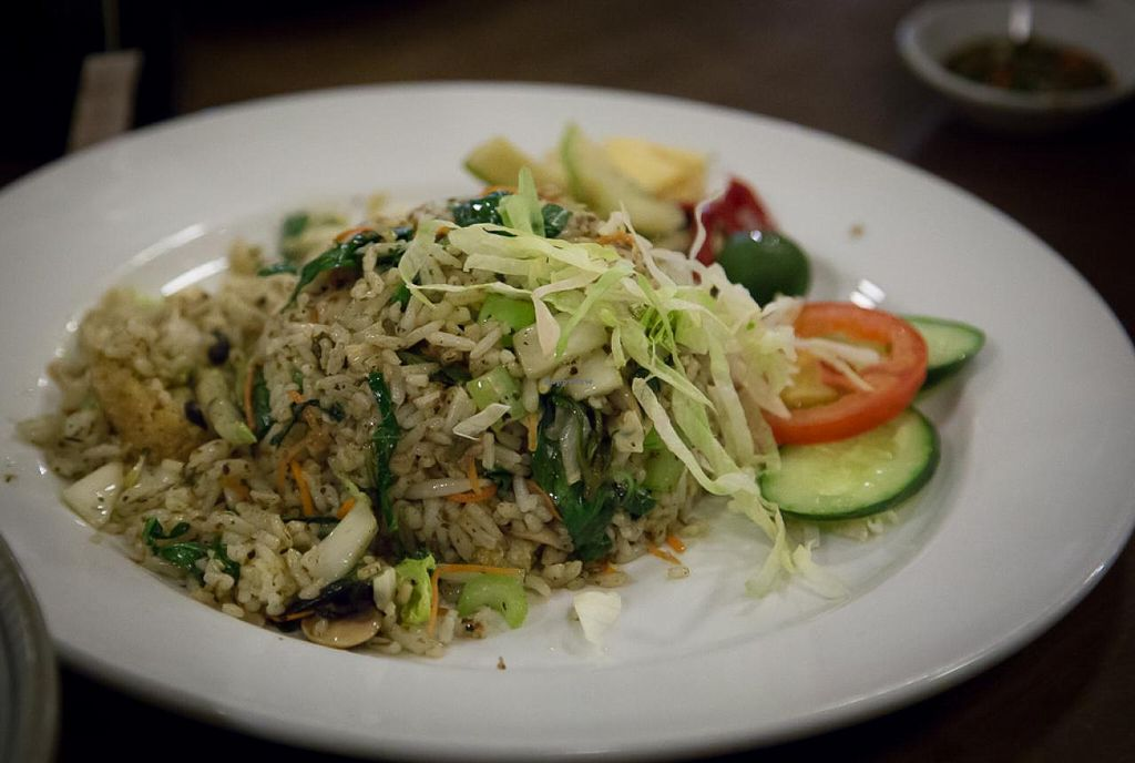 """Photo of CLOSED: LeAnn Organic Cafe  by <a href=""""/members/profile/AndyT"""">AndyT</a> <br/>Fried rice <br/> July 30, 2014  - <a href='/contact/abuse/image/23409/75532'>Report</a>"""