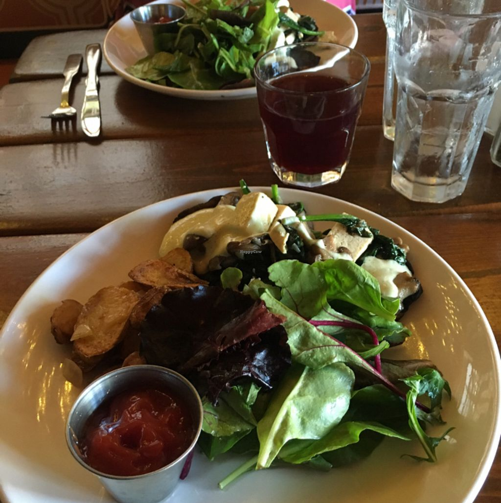 "Photo of Salvation Cafe  by <a href=""/members/profile/ConstanceFarrell"">ConstanceFarrell</a> <br/>vegan Benedict  <br/> June 12, 2016  - <a href='/contact/abuse/image/23432/153660'>Report</a>"