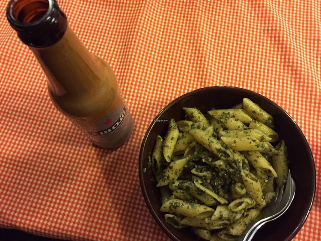 """Photo of Pasta Charmy's  by <a href=""""/members/profile/Houmankp"""">Houmankp</a> <br/>Basil Pesto Pennne <br/> June 4, 2017  - <a href='/contact/abuse/image/23438/265534'>Report</a>"""