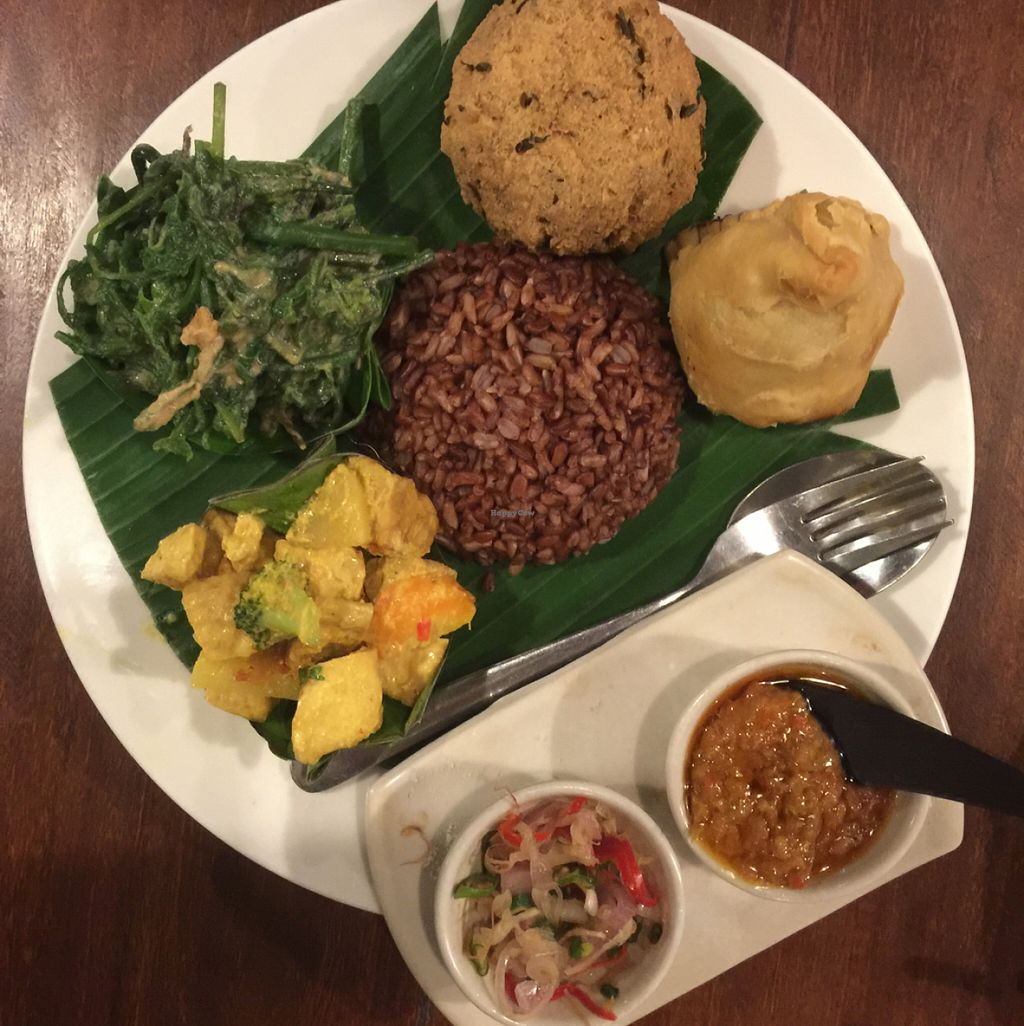 """Photo of Sopa - Jalan Sugriwa  by <a href=""""/members/profile/amandateng"""">amandateng</a> <br/>nasi campur- A+ presentation and amazing taste <br/> May 22, 2016  - <a href='/contact/abuse/image/23473/150206'>Report</a>"""