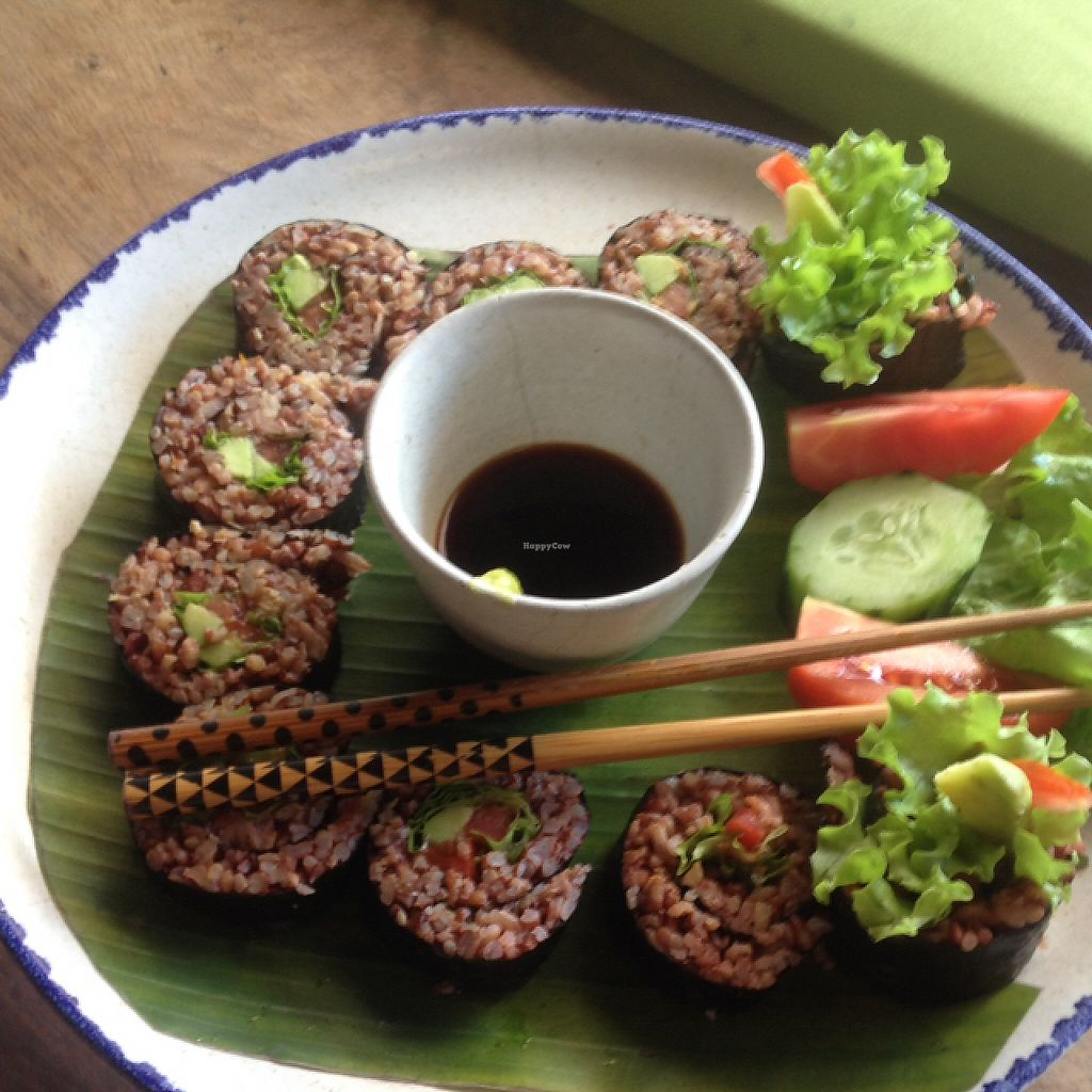 """Photo of Sopa - Jalan Sugriwa  by <a href=""""/members/profile/Bdizzle"""">Bdizzle</a> <br/>sushi with Avocado, lettuce  <br/> May 23, 2017  - <a href='/contact/abuse/image/23473/261634'>Report</a>"""