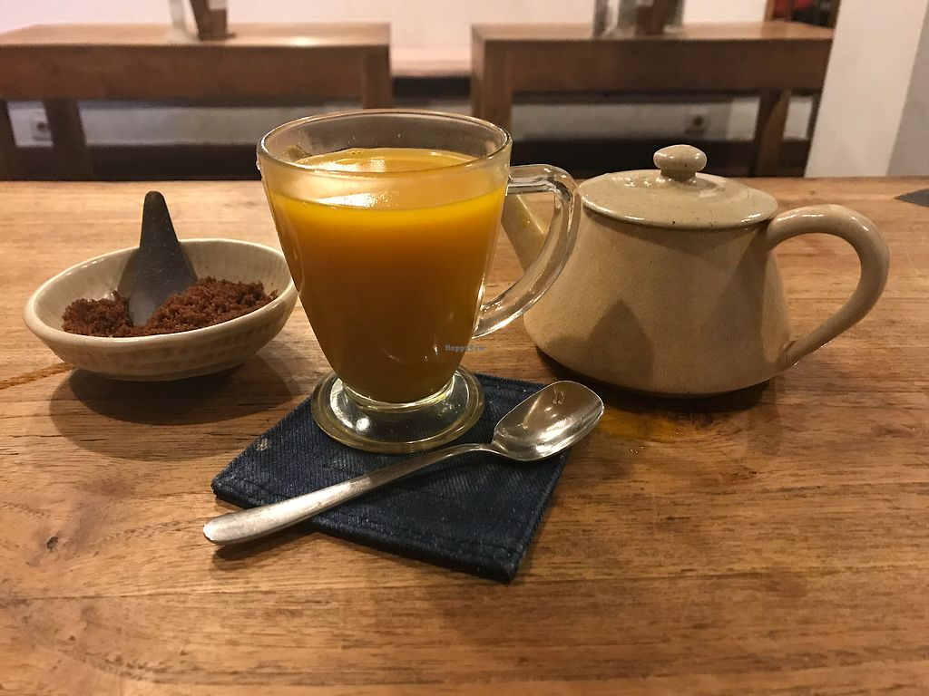 """Photo of Sopa - Jalan Sugriwa  by <a href=""""/members/profile/HazelRah"""">HazelRah</a> <br/>Hot turmeric  <br/> November 29, 2017  - <a href='/contact/abuse/image/23473/330484'>Report</a>"""