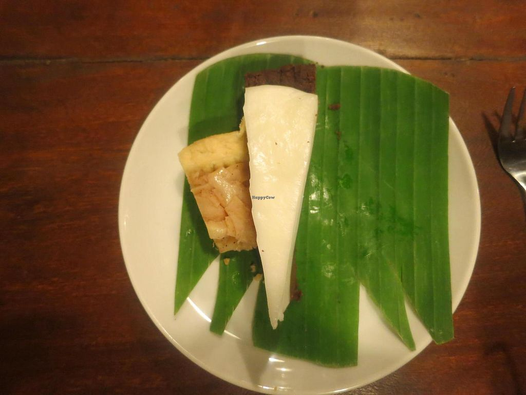 """Photo of Sopa - Jalan Sugriwa  by <a href=""""/members/profile/kareninpdx"""">kareninpdx</a> <br/>delicious snakeskin fruit pie and chocolate pie <br/> June 14, 2014  - <a href='/contact/abuse/image/23473/72010'>Report</a>"""