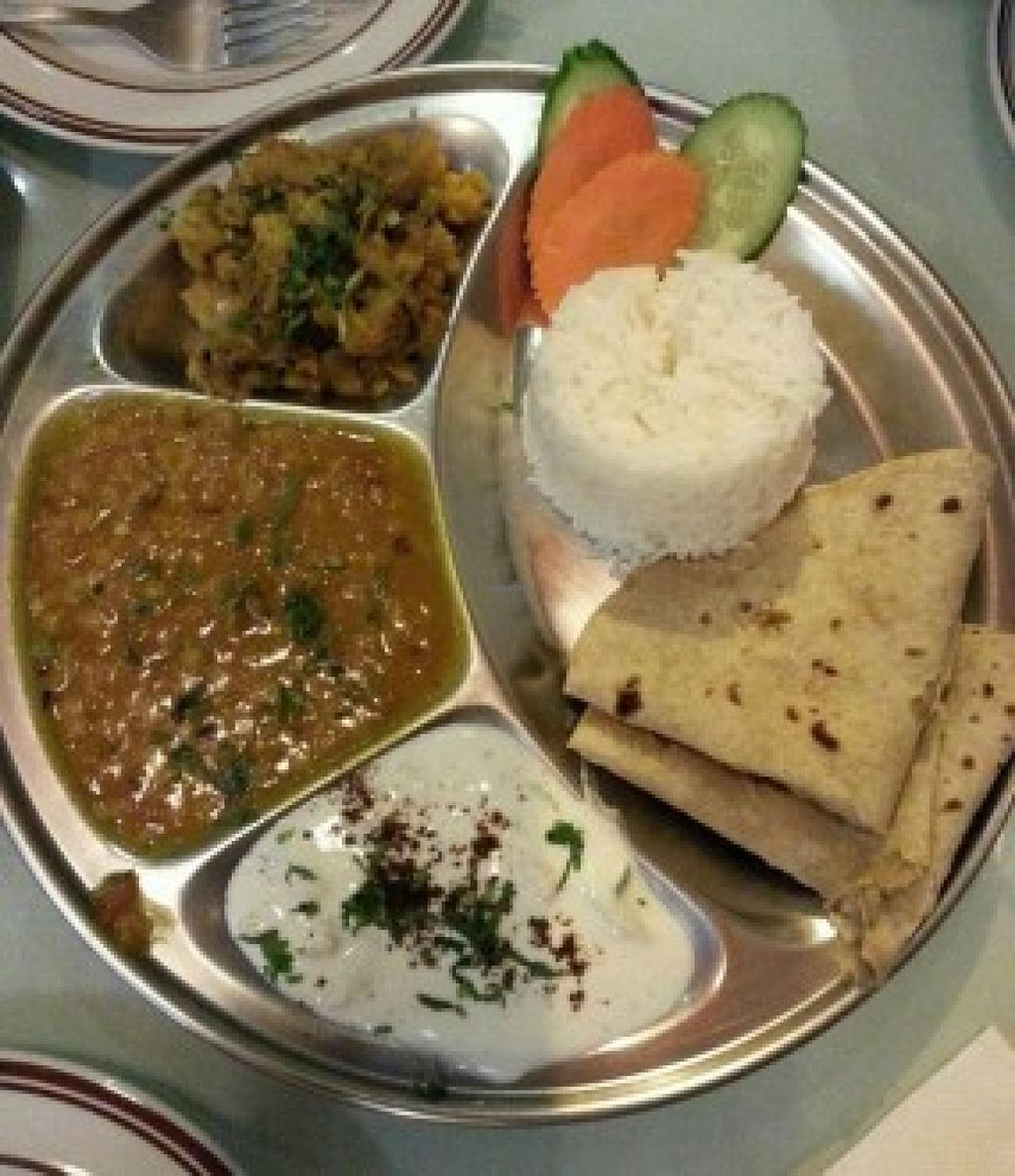 """Photo of Sharmaji Indian Veggie Restaurant  by <a href=""""/members/profile/Stevie"""">Stevie</a> <br/>2 <br/> May 28, 2015  - <a href='/contact/abuse/image/23497/103854'>Report</a>"""
