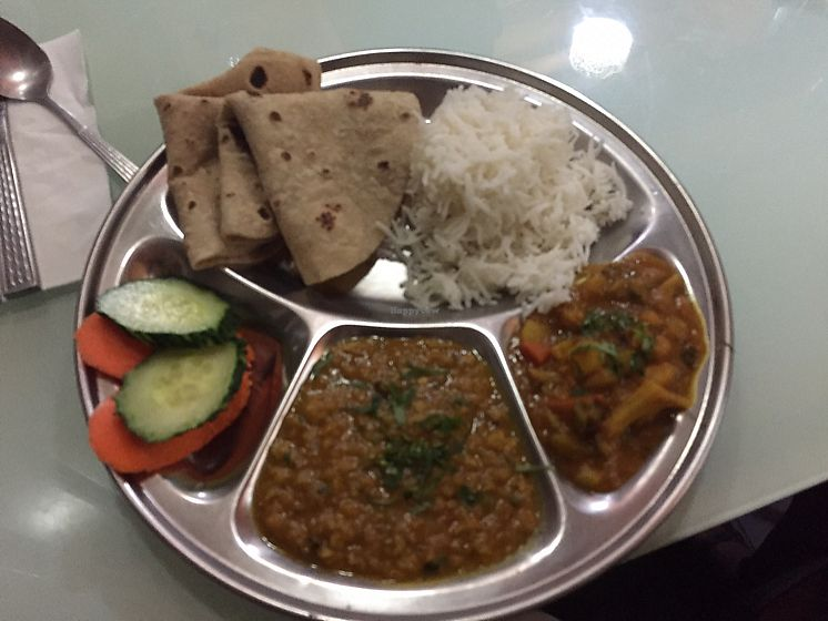 """Photo of Sharmaji Indian Veggie Restaurant  by <a href=""""/members/profile/Ashni"""">Ashni</a> <br/>my lunch set  <br/> November 10, 2017  - <a href='/contact/abuse/image/23497/323904'>Report</a>"""