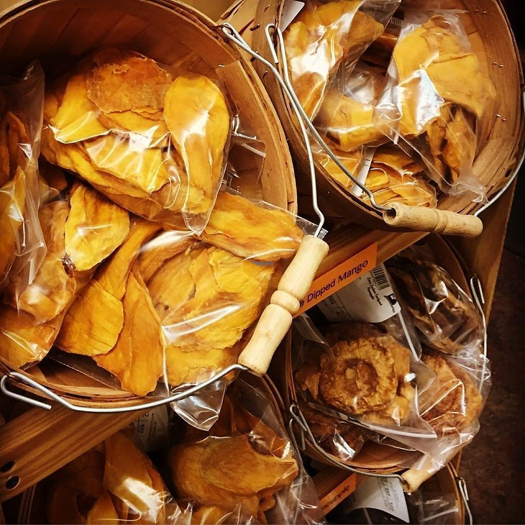 """Photo of French Broad Food Co-op  by <a href=""""/members/profile/community"""">community</a> <br/>Dried Mango and Pineapple <br/> February 26, 2017  - <a href='/contact/abuse/image/2352/230741'>Report</a>"""