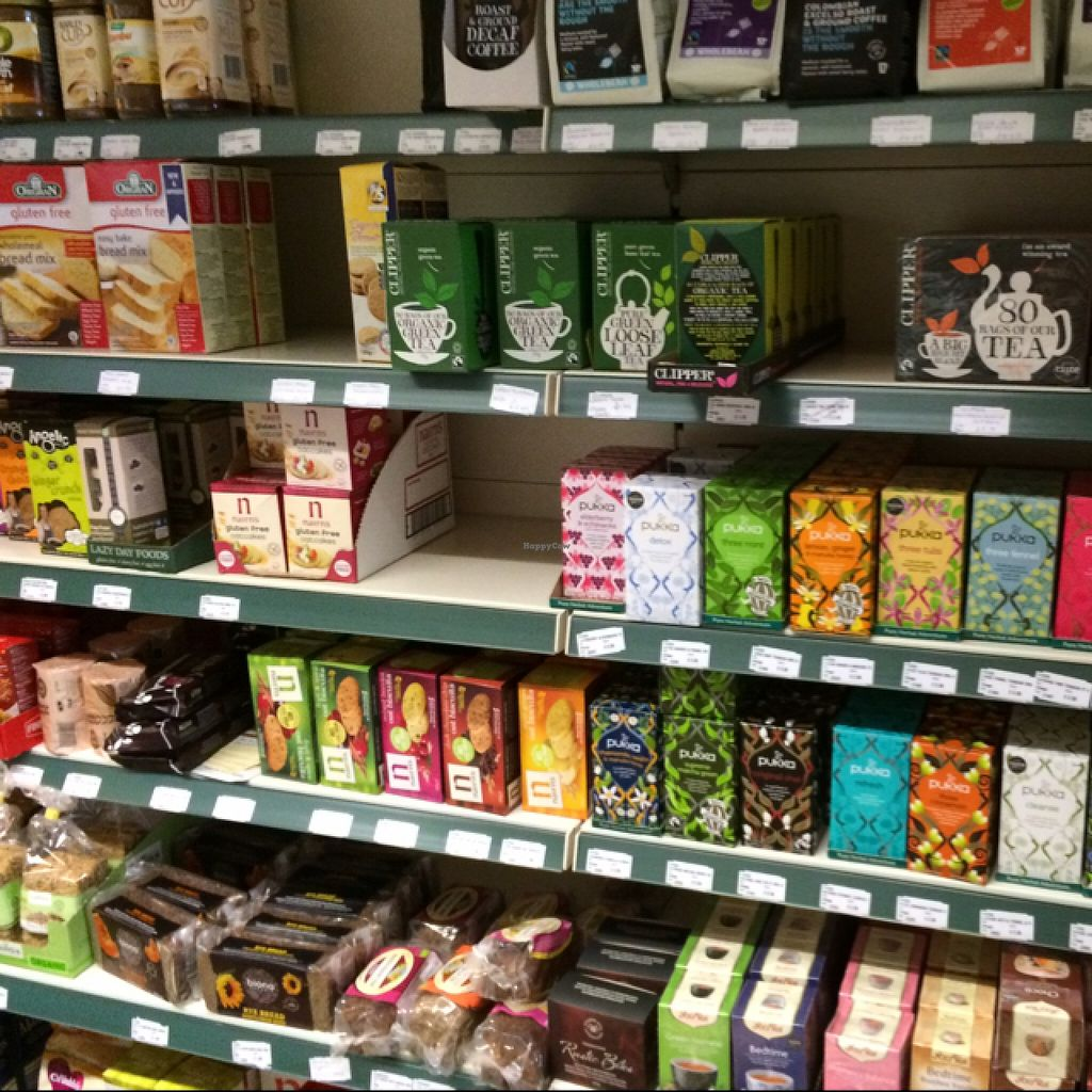 """Photo of Jacksons Wholefoods  by <a href=""""/members/profile/Marianne1967"""">Marianne1967</a> <br/>tea, coffee a.o <br/> August 24, 2015  - <a href='/contact/abuse/image/23554/115049'>Report</a>"""