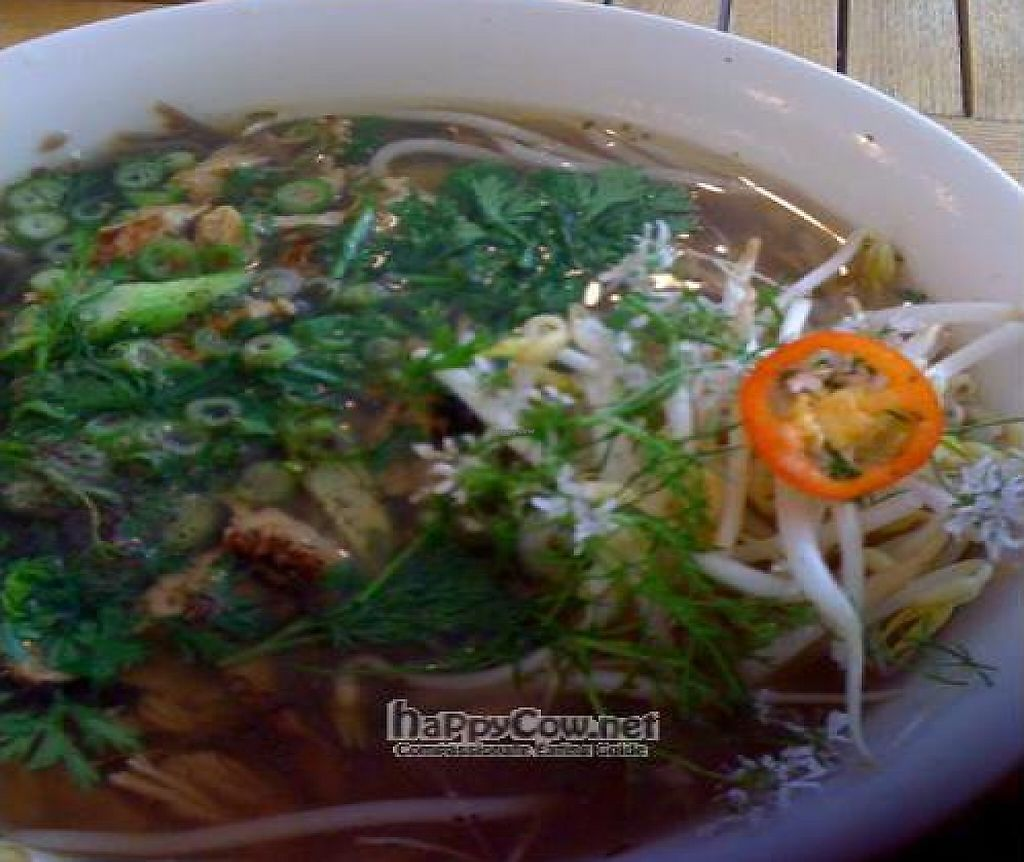 """Photo of Nourishing Quarter  by <a href=""""/members/profile/LindaK"""">LindaK</a> <br/>Rarely have I been moved to photograph my food but this delicious soup from Nourishing Quarter was appealing to so many senses <br/> June 16, 2011  - <a href='/contact/abuse/image/23564/248624'>Report</a>"""