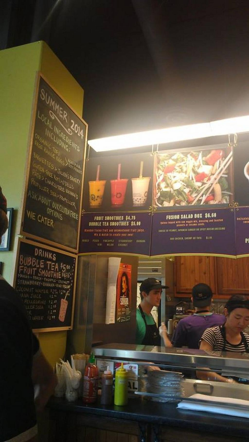 "Photo of Indochine Banh Mi  by <a href=""/members/profile/QuothTheRaven"">QuothTheRaven</a> <br/>Inside <br/> July 26, 2014  - <a href='/contact/abuse/image/23574/75186'>Report</a>"