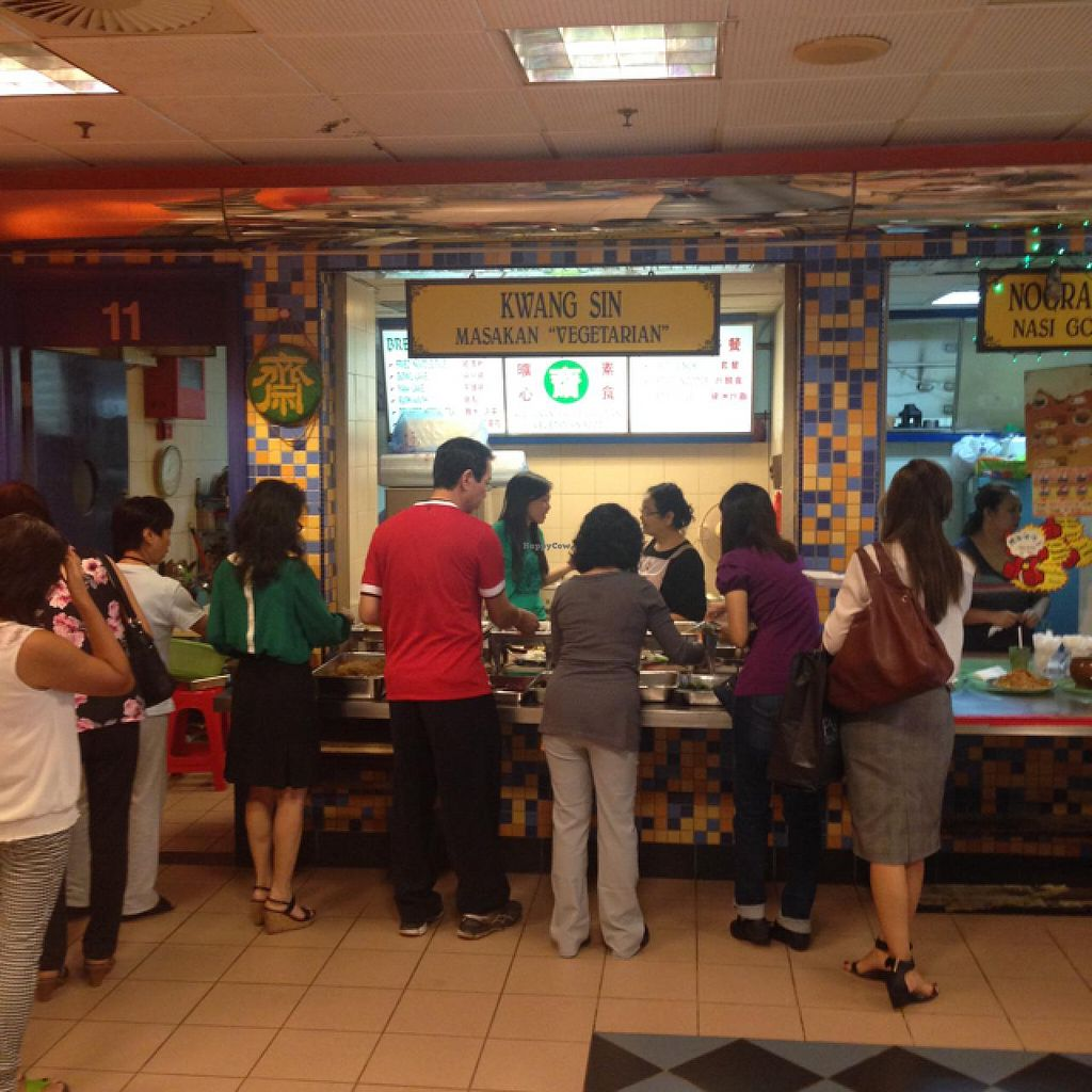 """Photo of Kwangsin Vege Corner Food Court  by <a href=""""/members/profile/AndyT"""">AndyT</a> <br/>View of stall in food court <br/> May 14, 2015  - <a href='/contact/abuse/image/23599/102262'>Report</a>"""