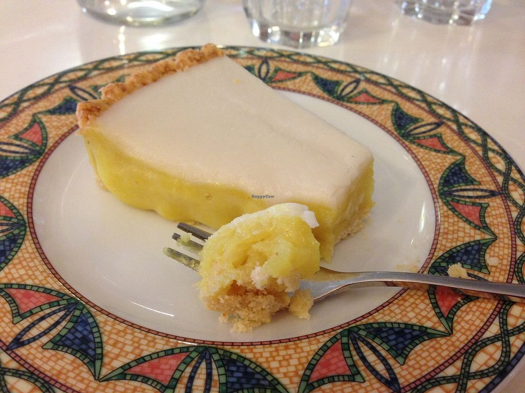 """Photo of Loving Hut - Menton  by <a href=""""/members/profile/LolaKritz"""">LolaKritz</a> <br/>nice lemon tart <br/> August 9, 2017  - <a href='/contact/abuse/image/23603/290959'>Report</a>"""